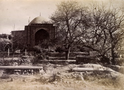 Tomb [sic, for mosque], near Bala Hissar Gate, [Kabul].